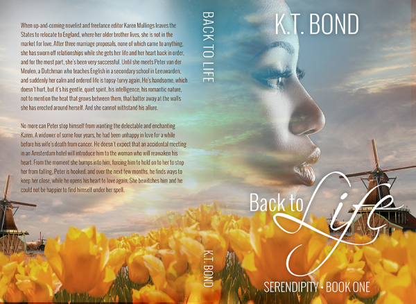 Back to Life paperback cover wrap